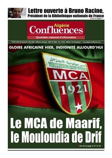 05 Mai 2013 - Algerie Confluences