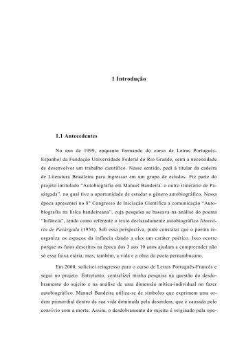 Texto completo - Mestrado em História da Literatura - Furg