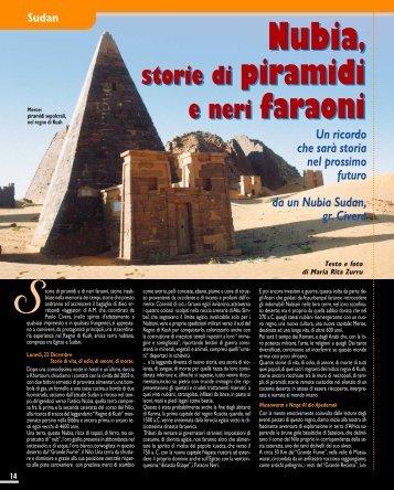 Sudan. Nubia, storie di Piramidi e neri faraoni - Viaggi Avventure nel ...