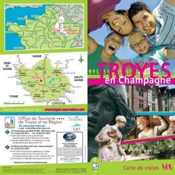 """Téléchargement Troyes en Champagne """"Carte de visite"""""""