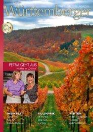 PETRA GEHT AUS - Weinland Württemberg