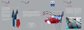 Plaquette Protocole - Ministère de l'Intérieur