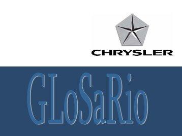 Glosario Junio 2008 - Chrysler