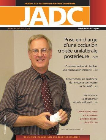 JADC - Canadian Dental Association