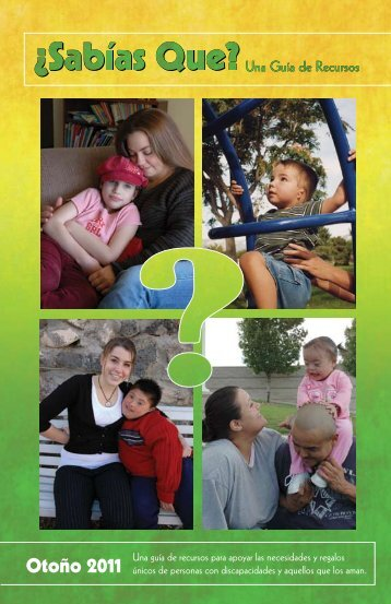 ¿Sabías Qué? - Center for Development and Disability - University ...