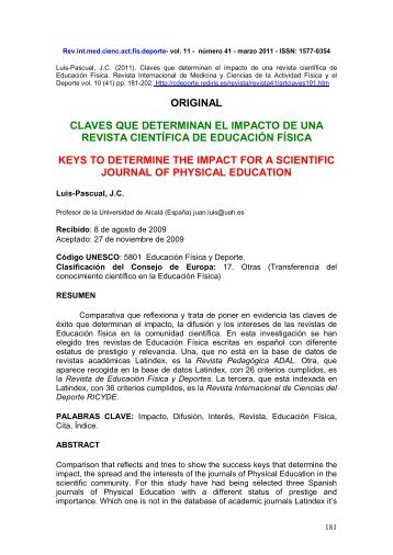 Texto completo - Comunidad Virtual CIENCIAS DEL DEPORTE ...