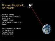 One-way Ranging to the Planets - NASA