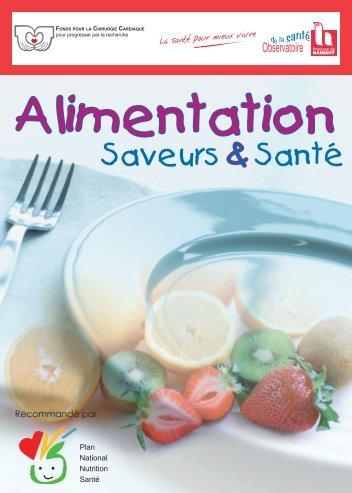 Alimentation saveurs et santé