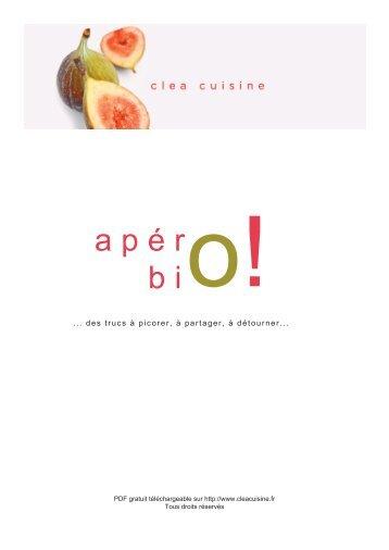 Télécharger « Apéro bio - Clea Cuisine