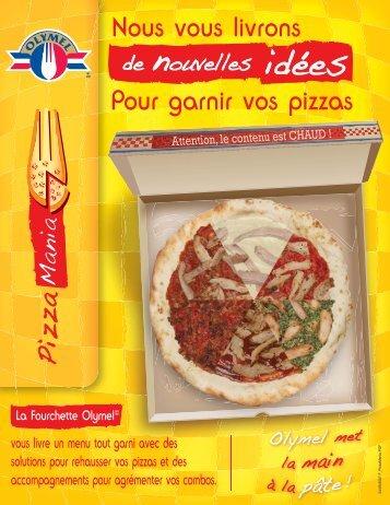 Nous vous livrons Pour garnir vos pizzas - Olymel - Services ...