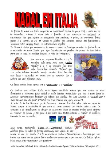 As festas de nadal en Italia empezan co tradicional cenone (a gran ...