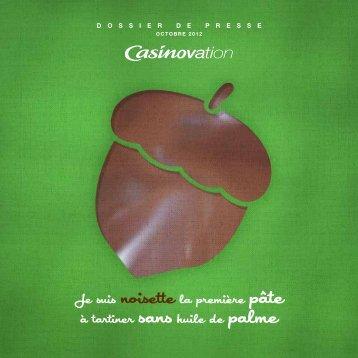 """Casinovation - Pâte à tartiner noisette"", octobre ... - Groupe Casino"