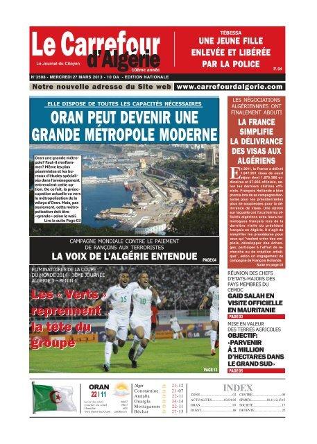27 Le Carrefour Dalgérie