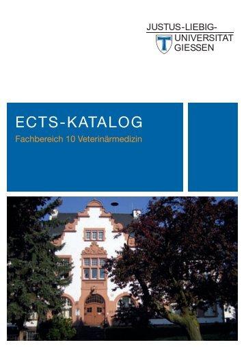 ECTS-Katalog - Justus-Liebig-Universität Gießen