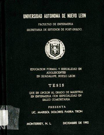 Marisol Dolores Parra Tron. - cdigital - Universidad Autónoma de ...