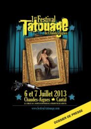 DOSSIER DE PRESSE FESTIVAL TATOUAGE.pdf - Festival du ...