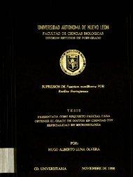 UNIVERSIDAD ÁUTDNDMA DE NUEVO LEON - cdigital