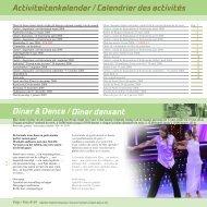 Activiteitenkalender / Calendrier des activités Diner ... - Vijverhof