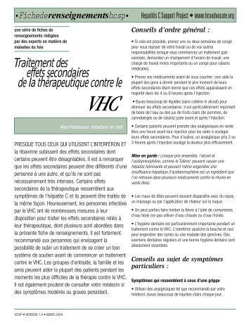 Transmission et prévention du VHC - HCV Advocate