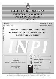 2350 - Instituto Nacional de la Propiedad Industrial