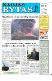 2012 m. balandžio 25 d. (Nr. 33) - Naujas rytas