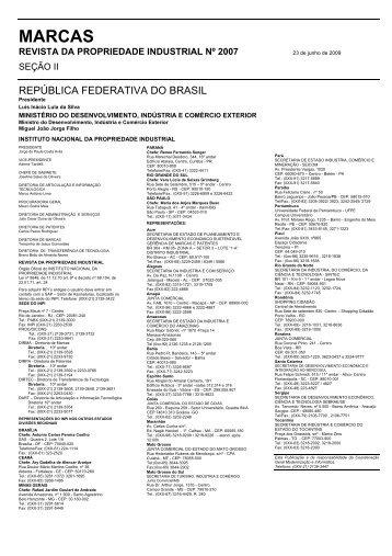 MARCAS - Revista da Propriedade Industrial - Inpi