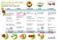 consulter les menus de la restauration scolaire du 13 au 31 ... - Osny