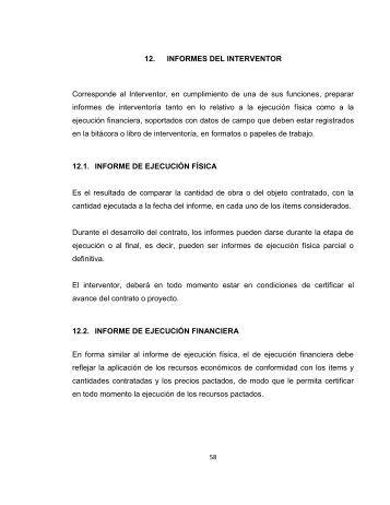 manual de interventoria para la secretaría de obras publicas del ...