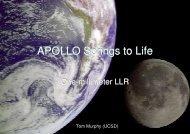 APOLLO Springs to Life - NASA