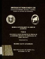 Ricardo Calvo Altamirano. - cdigital - Universidad Autónoma de ...