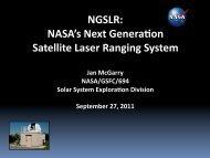 NGSLR - NASA