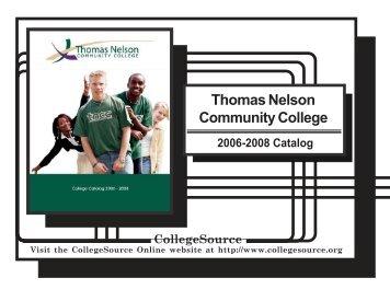 Thomas Nelson Community College - University of Phoenix