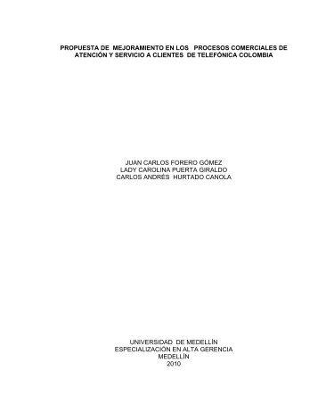 propuesta de mejoramiento en los procesos comerciales de ...