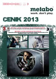 CENIK 2013 - Metabo