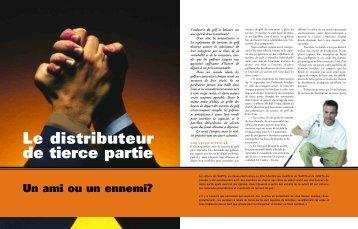 Le distributeur de tierce partie - l'Association nationale des ...