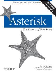 Asterisk™: The Future of Telephony - Cdn.oreilly.com - O'Reilly