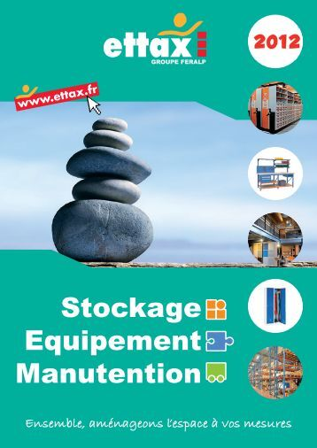 Stockage Equipement Manutention - Ettax