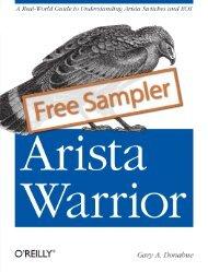 Arista Warrior - Cdn.oreilly.com