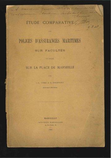 Page 1 y .Y »4£_ ETUDE COMPARATÈÉM DES PÜLICIIS II ...