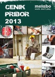 CENIK PRIBOR 2013 - Metabo