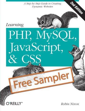 Learning PHP, MySQL, JavaScript, and CSS - Cdn.oreilly.com