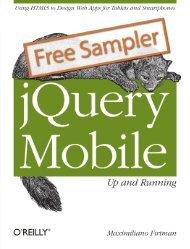 jQuery Cookbook - Cdn oreilly com - O'Reilly