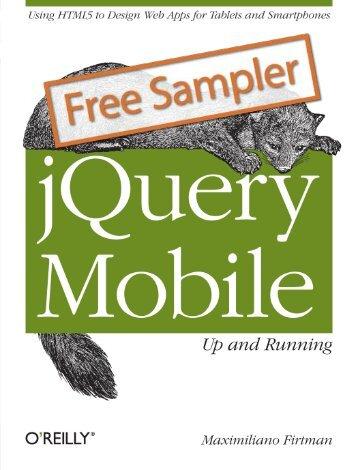 jQuery Mobile: Up and Running - Cdn.oreilly.com - O'Reilly