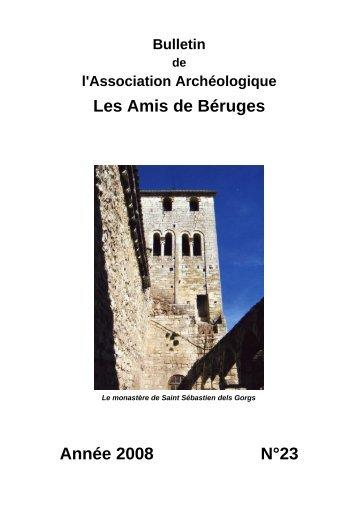 Bulletin Association Archeologique Amis de Beruges - Annee 2008 ...