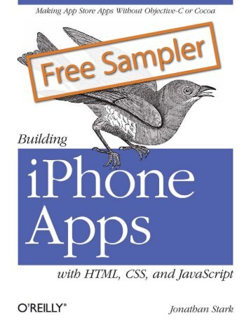 Building iPhone Apps with HTML, CSS, and ... - Cdn.oreilly.com