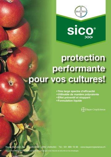 Sico® (PDF 427,1 KB) - Bayer CropScience - Schweiz