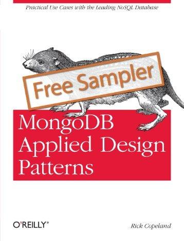 MongoDB Applied Design Patterns - Cdn.oreilly.com
