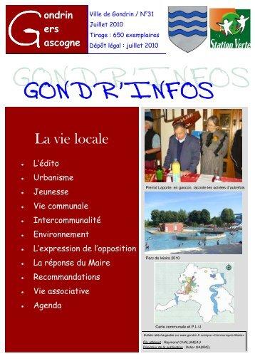 gondrinfos n°31