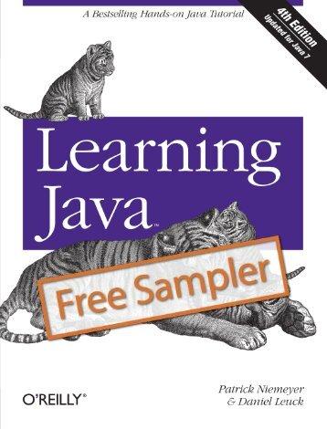 Learning Java - Cdn.oreilly.com