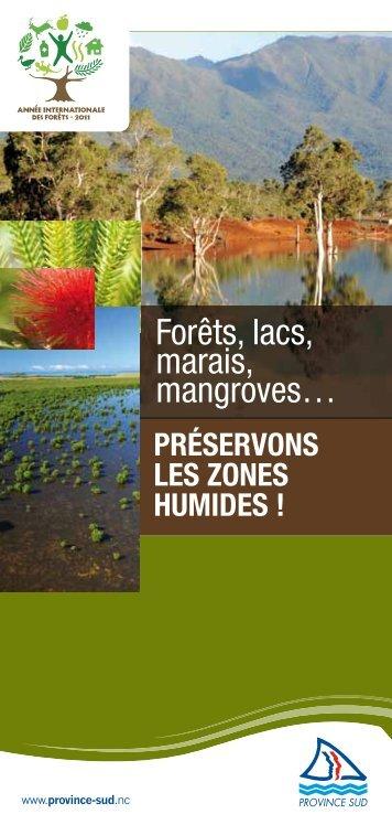 Préservons les zones humides - Province sud